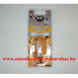 Illatosító, K2, Vento, Citrom, Lemon
