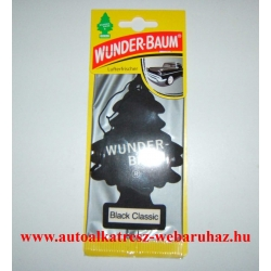 Illatosító Wunder-Baum Black Classic
