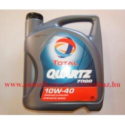 Total Quartz 7000 10w-40 motorolaj 4 literes