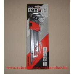 Torx kulcs készlet, yato-0512, lyukas
