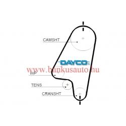 Vezérműszíj dayco 94650, Opel Astra F /5310xs/