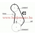 Vezérműszíj Volkswagen Golf, dayco 94737 /5424xs/