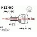 Féltengely csukló suzuki lpr KSZ660