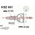 Féltengely csukló készlet Suzuki Swift, LPR KSZ661