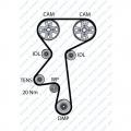 Vezérműszíj készlet Dayco ktb308, Opel Astra